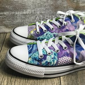 d493670019aba0 Converse Shoes - Converse Ctas Digital Floral OX White Volt